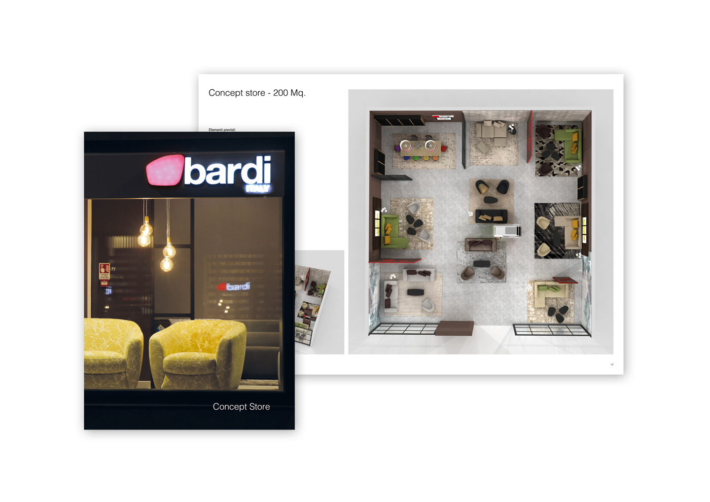 Brand Identity: BARDI ITALY Concept Store